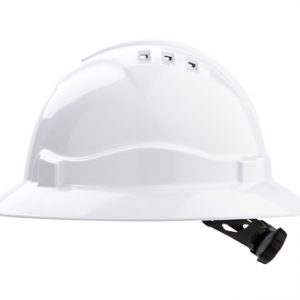 Full Brim Hard Hat White
